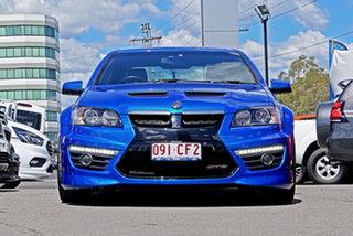 2011 Holden Special Vehicles GTS E Series 3 Blue 6 Speed Manual Sedan.