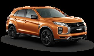 2021 Mitsubishi ASX XD MY21 MR 2WD Sunshine Orange 1 Speed Constant Variable Wagon.