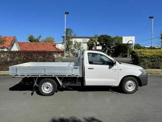 2013 Toyota Hilux TGN16R Workmate White 4 Speed Automatic Single Cab
