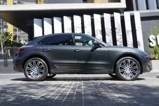 2018 Porsche Macan 95B No Badge Volcano Grey 7 Speed Sports Automatic Dual Clutch Wagon.