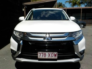 2017 Mitsubishi Outlander ZK MY18 LS AWD Safety Pack White 6 Speed Constant Variable Wagon
