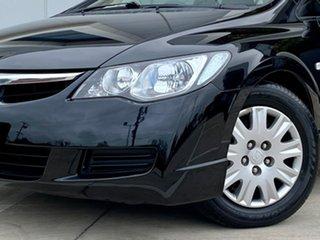 2008 Honda Civic 8th Gen MY08 VTi Black 5 Speed Automatic Sedan