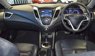 2012 Hyundai Veloster FS Black 6 Speed Auto Dual Clutch Coupe.