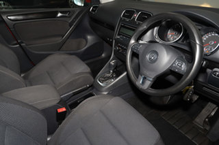 2011 Volkswagen Golf VI MY11 118TSI DSG Comfortline Red 7 Speed Sports Automatic Dual Clutch.