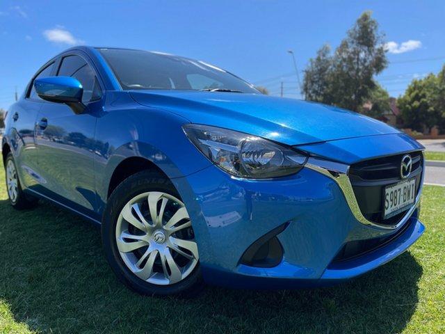 Used Mazda 2 DL2SAA Neo SKYACTIV-Drive Hindmarsh, 2018 Mazda 2 DL2SAA Neo SKYACTIV-Drive Blue 6 Speed Sports Automatic Sedan