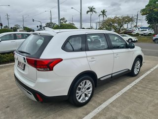 2020 Mitsubishi Outlander ZL MY21 ES 2WD White 6 Speed Constant Variable Wagon.