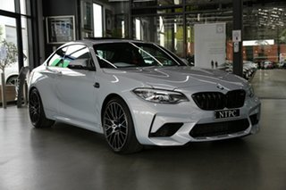 2020 BMW M2 F87 LCI Competition M-DCT Silver 7 Speed Sports Automatic Dual Clutch Coupe