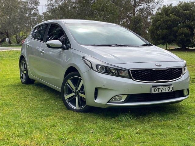 Used Kia Cerato YD MY18 Sport+ Wodonga, 2017 Kia Cerato YD MY18 Sport+ Silver 6 Speed Sports Automatic Hatchback