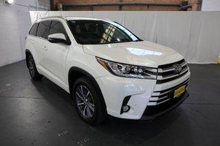 2018 Toyota Kluger GSU55R GXL AWD White 8 Speed Sports Automatic Wagon.
