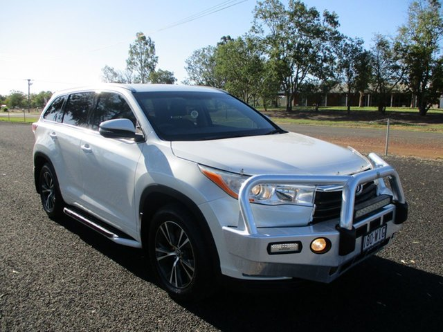 Pre-Owned Toyota Kluger GSU55R GXL (4x4) Roma, 2016 Toyota Kluger GSU55R GXL (4x4) Crystal Pearl 6 Speed Automatic Wagon
