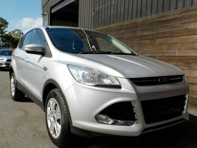 Used Ford Kuga TF MY16.5 Ambiente 2WD Labrador, 2016 Ford Kuga TF MY16.5 Ambiente 2WD Silver 6 Speed Sports Automatic Wagon