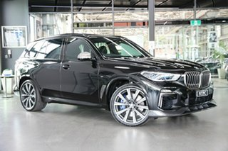 2018 BMW X5 G05 M50d Steptronic Black 8 Speed Sports Automatic Wagon.