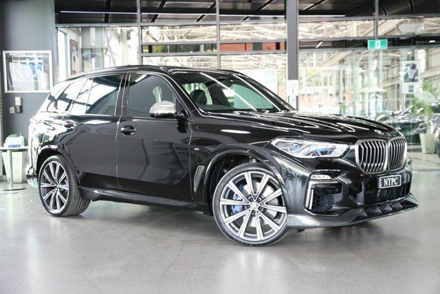 Used BMW X5 G05 M50d Steptronic North Melbourne, 2018 BMW X5 G05 M50d Steptronic Black 8 Speed Sports Automatic Wagon