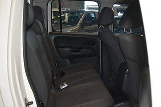 2014 Volkswagen Amarok 2H MY14 TDI400 Trendline (4x4) White 6 Speed Manual Dual Cab Chassis