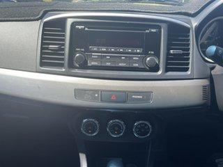 2014 Mitsubishi Lancer CJ MY14.5 LX Red 6 Speed Constant Variable Sedan