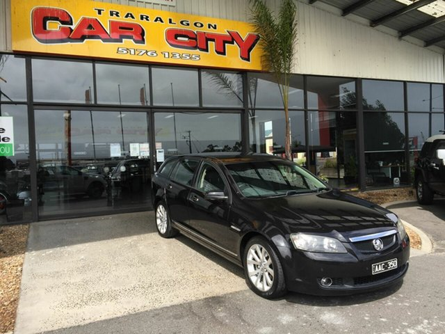Used Holden Calais VE MY09.5 Traralgon, 2009 Holden Calais VE MY09.5 Black 5 Speed Automatic Sportswagon