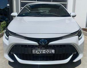 2021 Toyota Corolla ZWE211R ZR E-CVT Hybrid White 10 Speed Constant Variable Hatchback Hybrid.