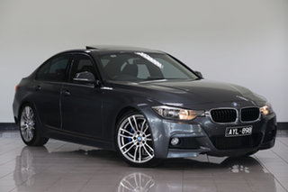 2013 BMW 320i F30 MY0813 320i Mineral Grey 8 Speed Sports Automatic Sedan.