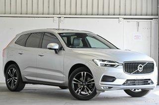 2018 Volvo XC60 UZ MY18 T5 AWD Momentum Silver 8 Speed Sports Automatic Wagon.