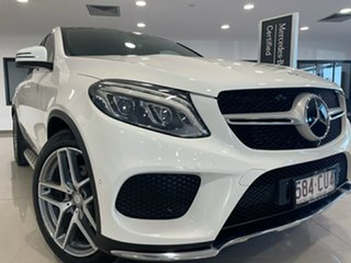 2015 Mercedes-Benz GLE-Class C292 GLE350 d Coupe 9G-Tronic 4MATIC White 9 Speed Sports Automatic.