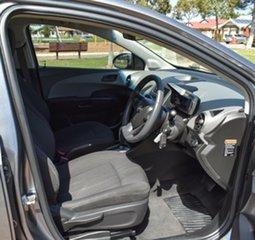 2012 Holden Barina TM MY13 CD Grey 6 Speed Automatic Sedan.