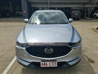 2019 Mazda CX-5 KF4WLA Akera SKYACTIV-Drive i-ACTIV AWD Silver 6 Speed Sports Automatic Wagon.