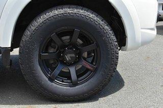 2015 Mitsubishi Triton MQ MY16 GLX (4x4) White 5 Speed Automatic Dual Cab Utility