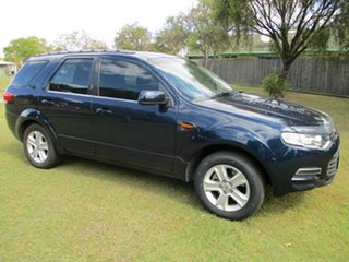 2011 Ford Territory SY MkII TS AWD Blue 6 Speed Sports Automatic Wagon