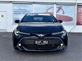 2020 Toyota Corolla ZWE211R ZR E-CVT Hybrid Peacock Black 10 Speed Constant Variable Hatchback.