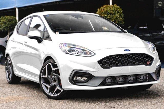 New Ford Fiesta WG 2021MY ST Oakleigh, 2021 Ford Fiesta WG 2021MY ST White 6 Speed Manual Hatchback