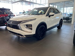 2021 Mitsubishi Eclipse Cross YB MY21 Aspire 2WD White 8 Speed Constant Variable Wagon.