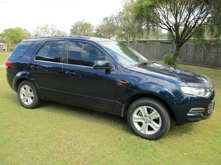 2011 Ford Territory SY MkII TS AWD Blue 6 Speed Sports Automatic Wagon.