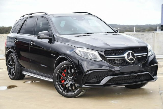 Used Mercedes-Benz GLE-Class W166 808MY GLE63 AMG SPEEDSHIFT PLUS 4MATIC S Osborne Park, 2017 Mercedes-Benz GLE-Class W166 808MY GLE63 AMG SPEEDSHIFT PLUS 4MATIC S Black 7 Speed