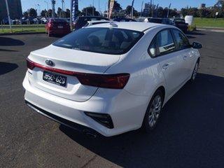 2018 Kia Cerato BD MY19 S White 6 Speed Sports Automatic Sedan.