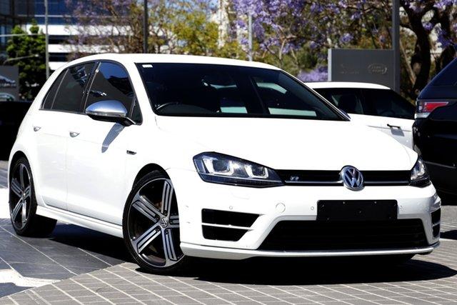 Used Volkswagen Golf VII MY17 R 4MOTION Newstead, 2016 Volkswagen Golf VII MY17 R 4MOTION White 6 Speed Manual Hatchback