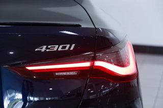 2020 BMW 4 Series F32 LCI 430i M Sport Tanzanite Blue 8 Speed Sports Automatic Coupe