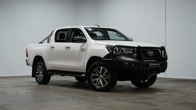 Used Toyota Hilux GUN126R SR5 Double Cab Welshpool, 2019 Toyota Hilux GUN126R SR5 Double Cab White 6 Speed Sports Automatic Utility