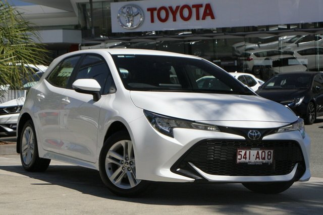 Used Toyota Corolla Mzea12R Ascent Sport North Lakes, 2020 Toyota Corolla Mzea12R Ascent Sport Glacier White 10 Speed Constant Variable Hatchback