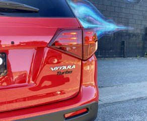 2021 Suzuki Vitara LY Series II Turbo 2WD Bright Red & Cosmic Black 6 Speed Sports Automatic Wagon