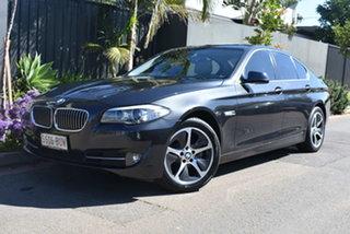 2012 BMW 5 Series F10 MY0911 520i Steptronic Grey 8 Speed Sports Automatic Sedan.