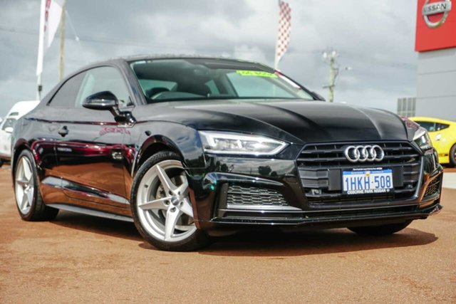 Used Audi A5 F5 MY17 Sport S Tronic Quattro Osborne Park, 2017 Audi A5 F5 MY17 Sport S Tronic Quattro Black 7 Speed Sports Automatic Dual Clutch Coupe