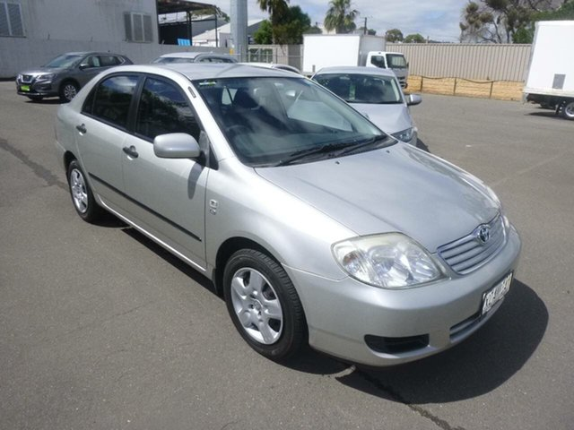Used Toyota Corolla ZZE122R 5Y Ascent St Marys, 2006 Toyota Corolla ZZE122R 5Y Ascent Silver 5 Speed Manual Sedan