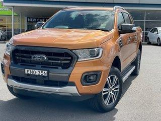 2021 Ford Ranger Wildtrak Saber Sports Automatic Double Cab Pick Up.