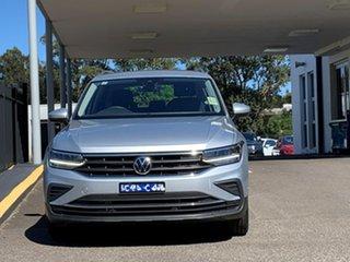 2021 Volkswagen Tiguan 5N MY21 110TSI Life DSG 2WD Silver 6 Speed Sports Automatic Dual Clutch Wagon.
