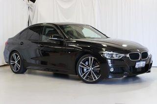 2018 BMW 3 Series F30 LCI 340i M Sport Black 8 Speed Sports Automatic Sedan.