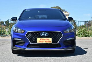 2018 Hyundai i30 PD.3 MY19 N Line D-CT Blue 7 Speed Sports Automatic Dual Clutch Hatchback.
