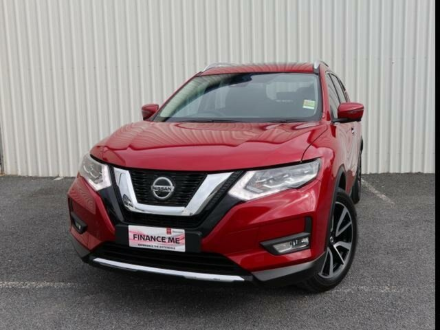 New Nissan X-Trail T32 MY21 Ti X-tronic 4WD Wangaratta, 2021 Nissan X-Trail T32 MY21 Ti X-tronic 4WD Ruby Red 7 Speed Continuous Variable Wagon