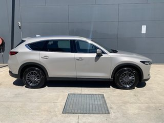 2021 Mazda CX-8 KG4W2A Touring SKYACTIV-Drive i-ACTIV AWD Platinum Quartz Metallic 6 Speed.