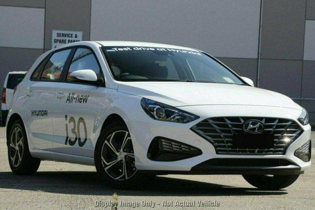 New Hyundai i30 PD.V4 MY21 Castle Hill, 2021 Hyundai i30 PD.V4 MY21 Polar White 6 Speed Sports Automatic Hatchback