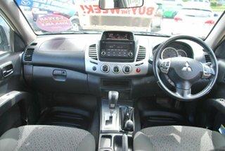 2015 Mitsubishi Triton MN MY15 GLX-R (4x4) White 5 Speed Automatic 4x4 Double Cab Utility